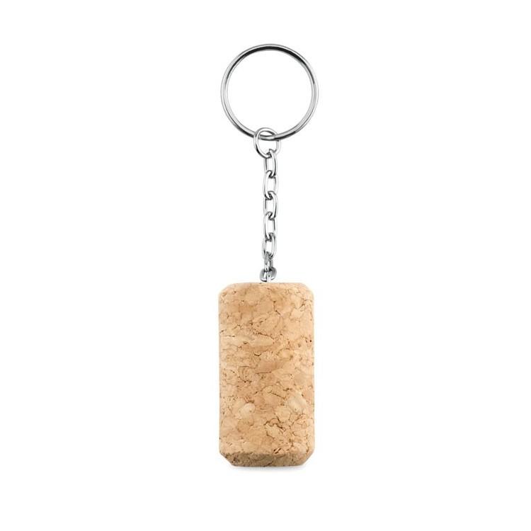 Porte-clés bouchon de liège publicitaire - Vie quotidienne et maison personnalisé