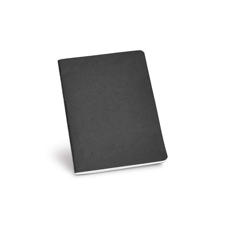 Cahier A5 couleur 80 pages 100% recyclé personnalisé - Cahier personnalisable