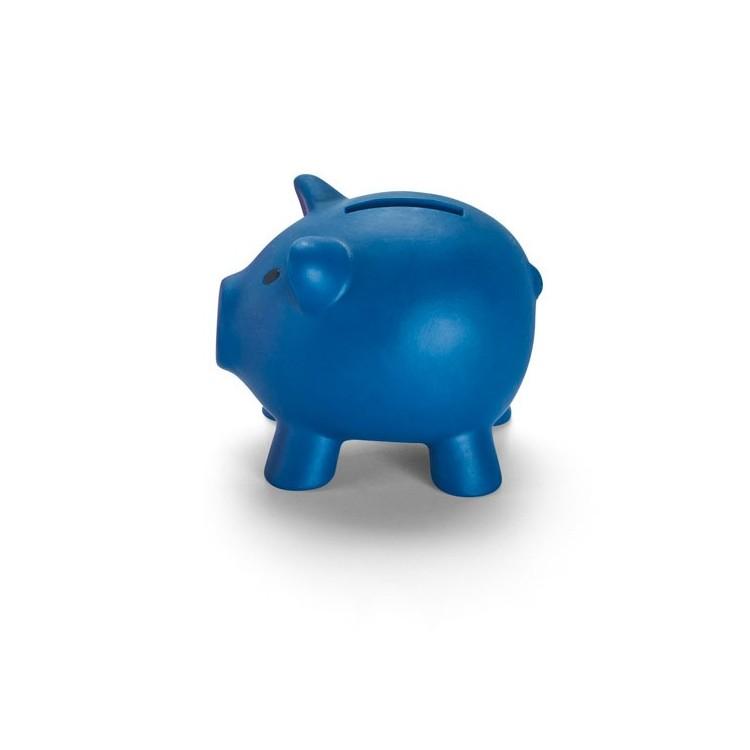 Tirelire cochon publicitaire - Plein air personnalisé