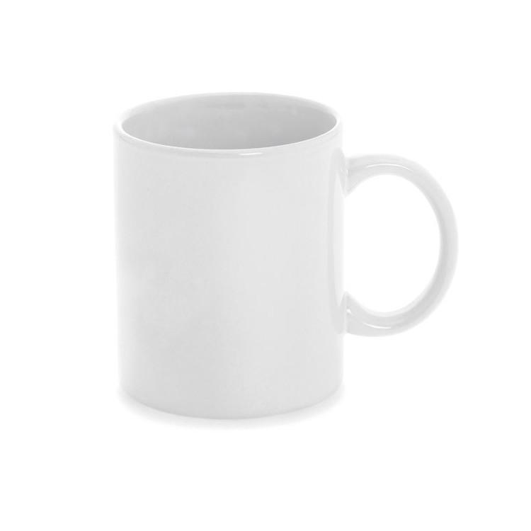 Mug blanc 35cl en céramique personnalisé - Bureau personnalisable