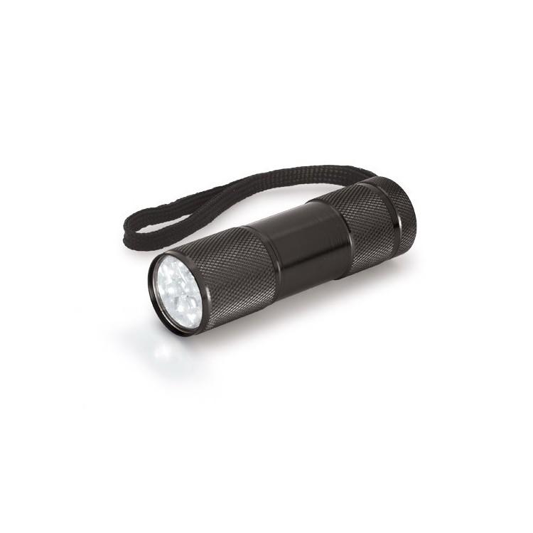 Lampe de poche Alu publicitaire - Lampe & torche personnalisée