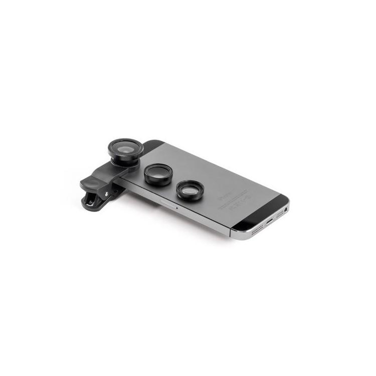 Jeux de mini lentilles universelles - Lentille de téléphone avec logo