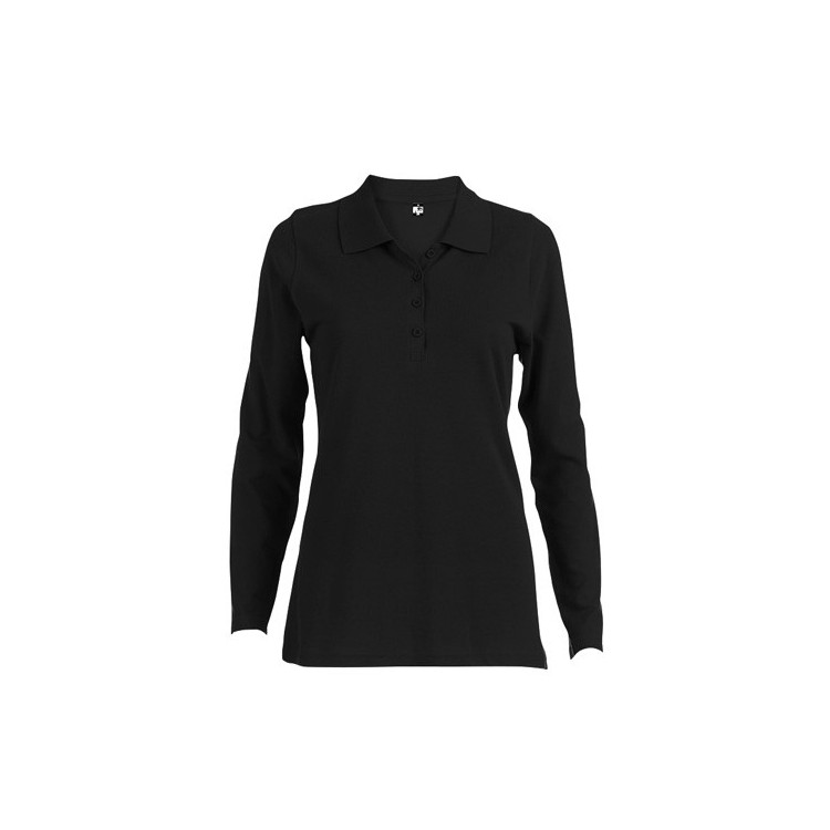 Polo à manches longues pour femme - Polo avec logo