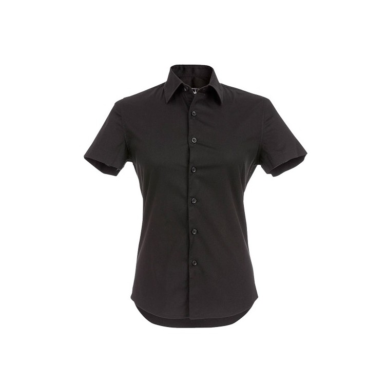 Chemise à manches courtes pour femme publicitaire - Chemise personnalisée