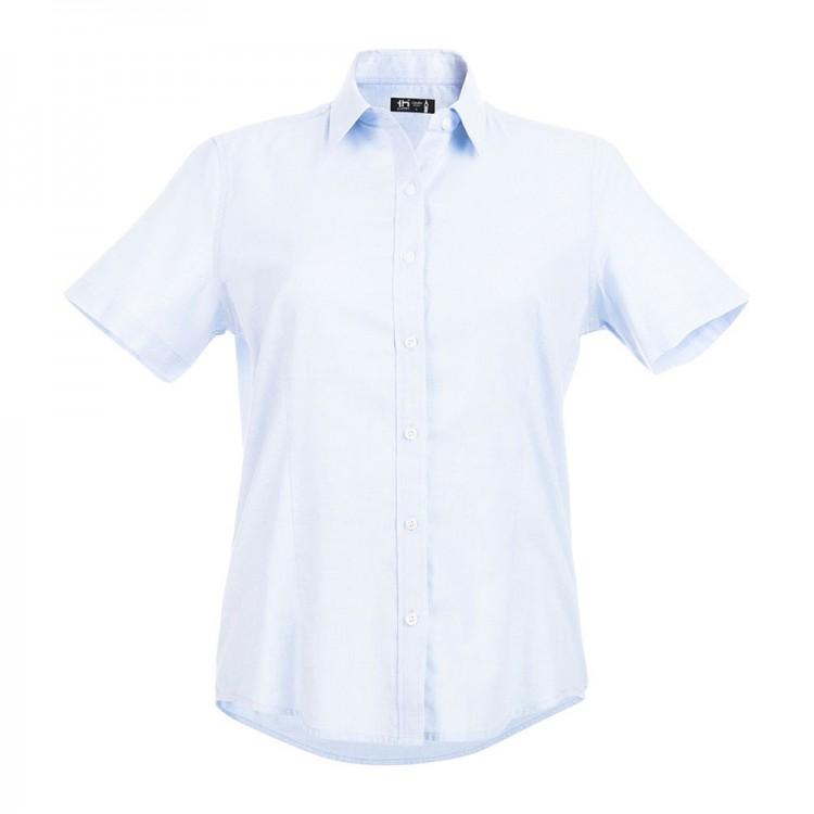 Chemise à manches courtes pour femme - Chemise avec logo