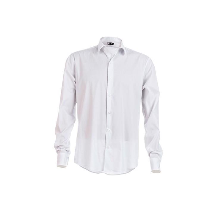 Chemise à manches longues pour homme - Chemise avec logo