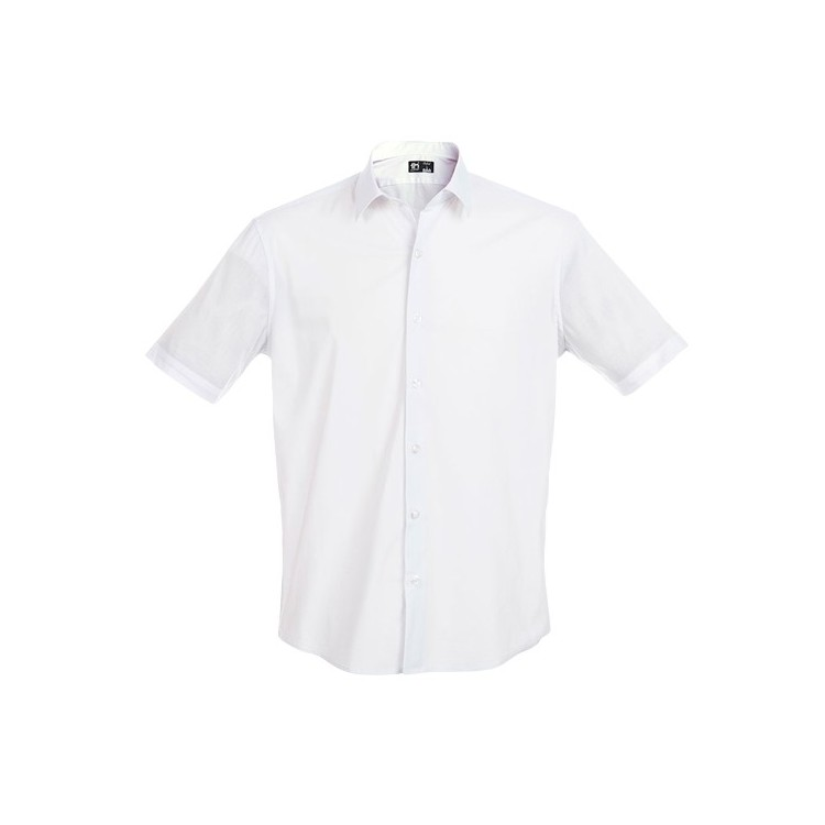 Chemise à manches courtes pour homme - Chemise avec logo
