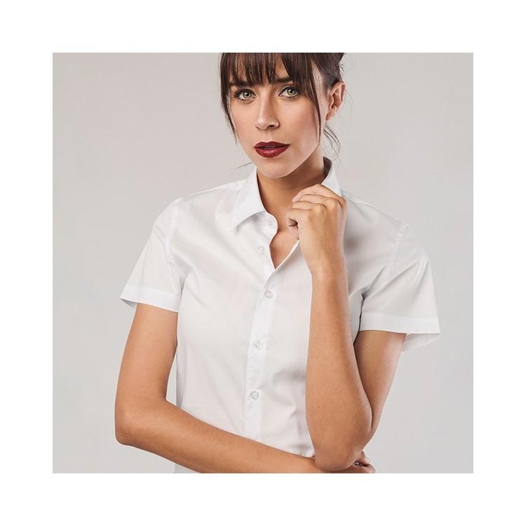 Chemise à manches courtes pour femme - Chemise publicitaire