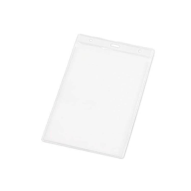 Etui transparent pour badge grand modèle - Bureau avec logo