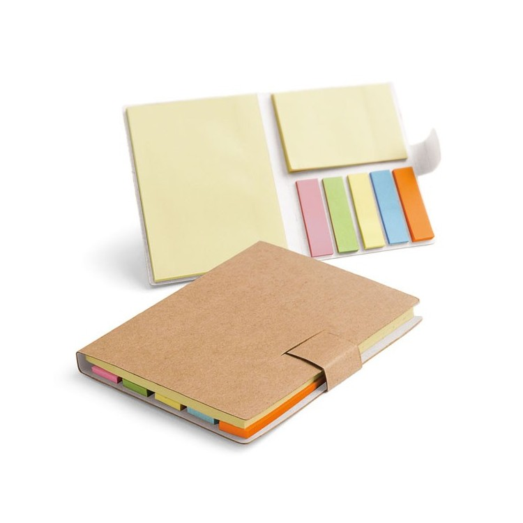 Bloc-notes repositionnables 10,5x8cm - Bloc-notes personnalisable