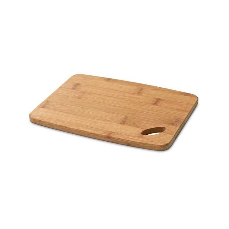 Petite planche à découper en bambou - Planche à découper avec logo