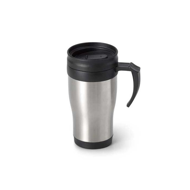 Mug isotherme inox 420ml personnalisée - Voyages personnalisable