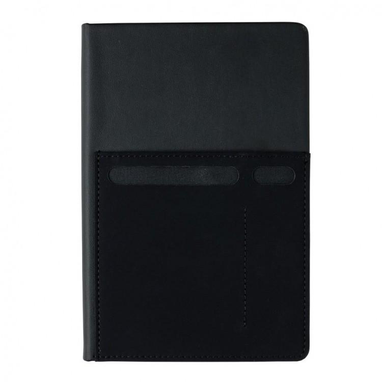 Carnet A5 avec pochettes - Bureau avec logo