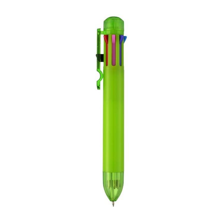 Stylo à bille multi couleurs personnalisé - Stylo bille personnalisable