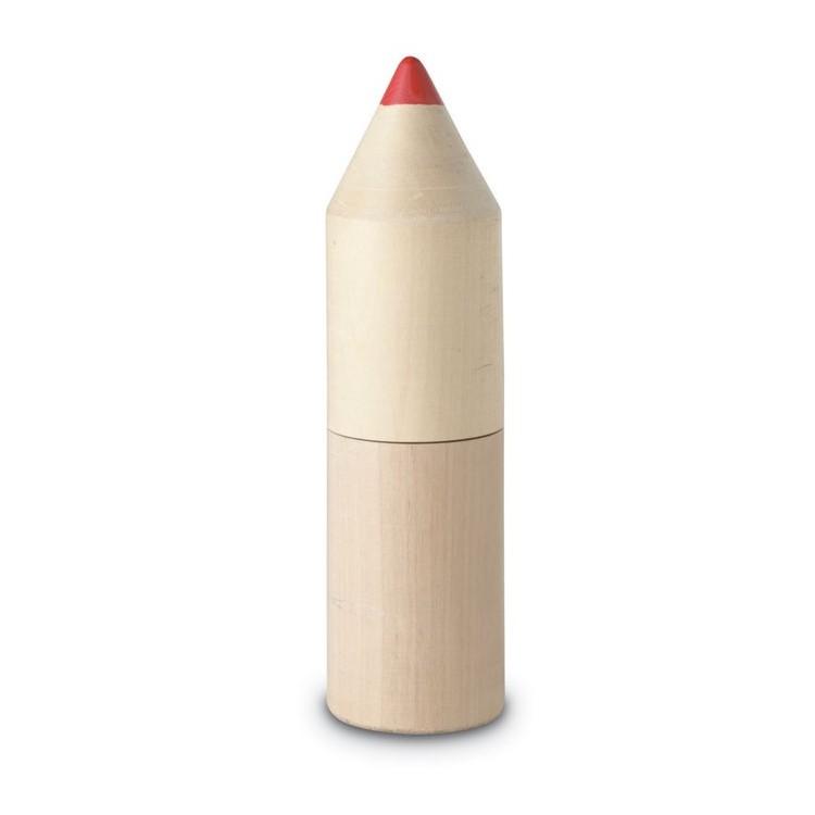Boite de 12 crayons de couleur - Enfants publicitaire
