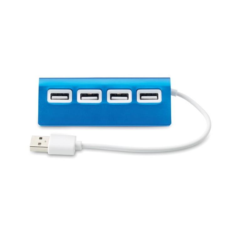 Duplicateur USB 4 ports personnalisé - Hub personnalisable