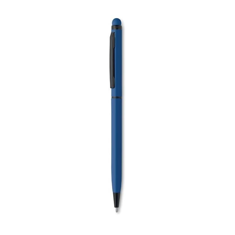 Stylo bille twist encre bleue - Stylo bille publicitaire