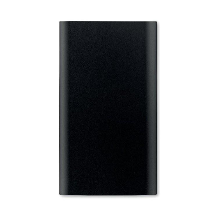 Batterie externe 4000 mAh Alu publicitaire - Batterie de secours personnalisée