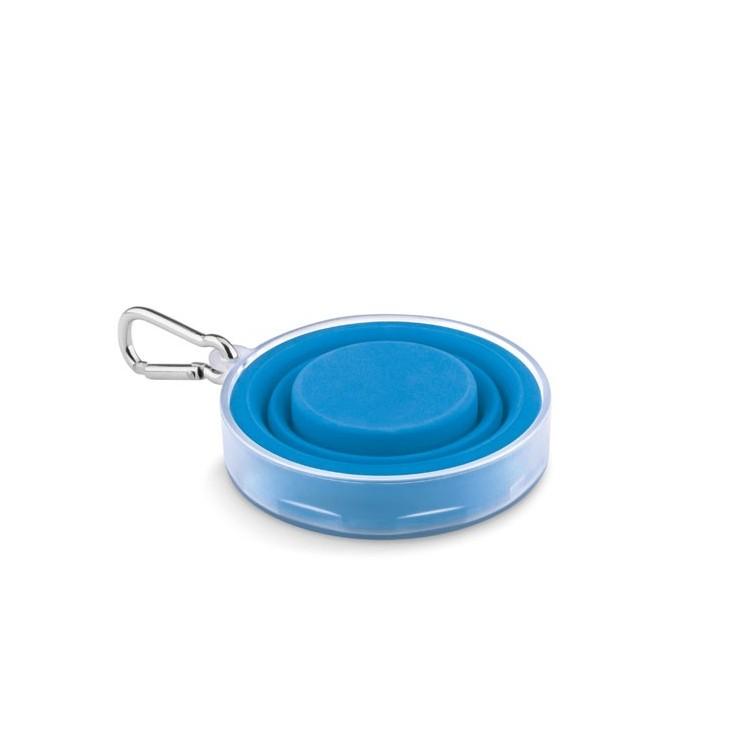Tasse pliable avec pilulier - Vie quotidienne et maison publicitaire