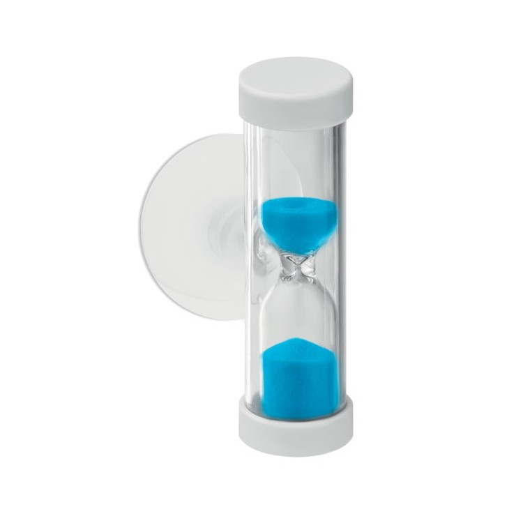 Sablier (4 min) avec ventouse - Sablier avec logo