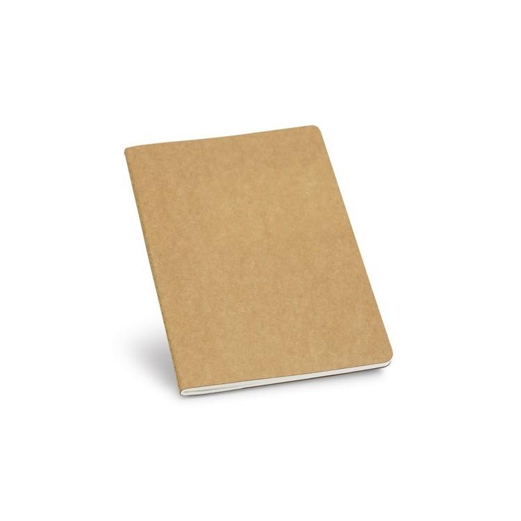 Cahier A5 80 pages 100% recyclé - Cahier avec logo