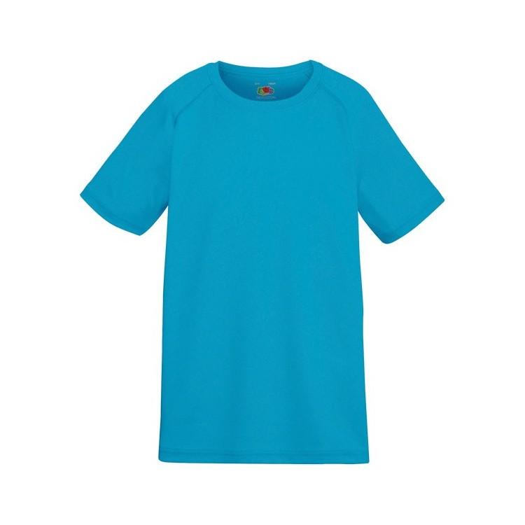T-Shirt de sport Enfant 140 g/m2 publicitaire - Lycéens / Etudiants personnalisé