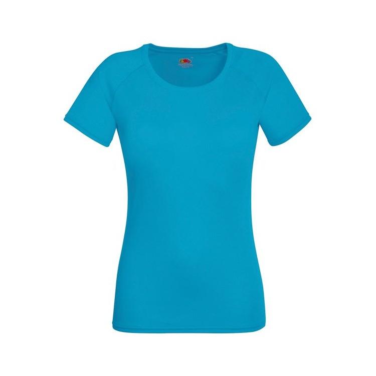 T-Shirt Femme de sport 140 g/m2 personnalisé - Lycéens / Etudiants personnalisable