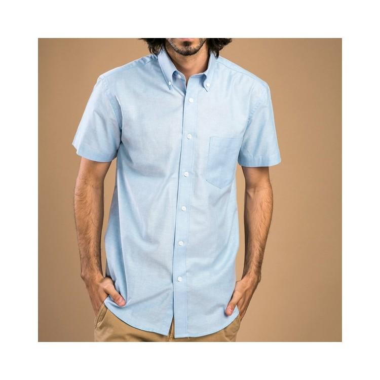 Chemise à manches courtes pour homme - Chemise personnalisable