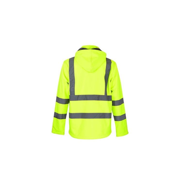 Manteau haute visibilité pour homme - Hiver avec logo