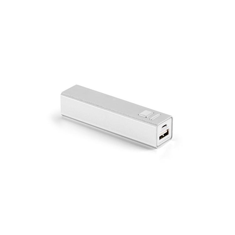 Batterie externe Aluminium - Batterie de secours publicitaire