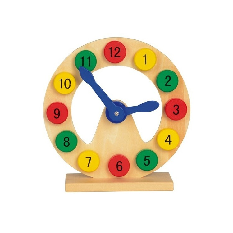 Horloge éducative 20 cm personnalisé - Enfants personnalisable