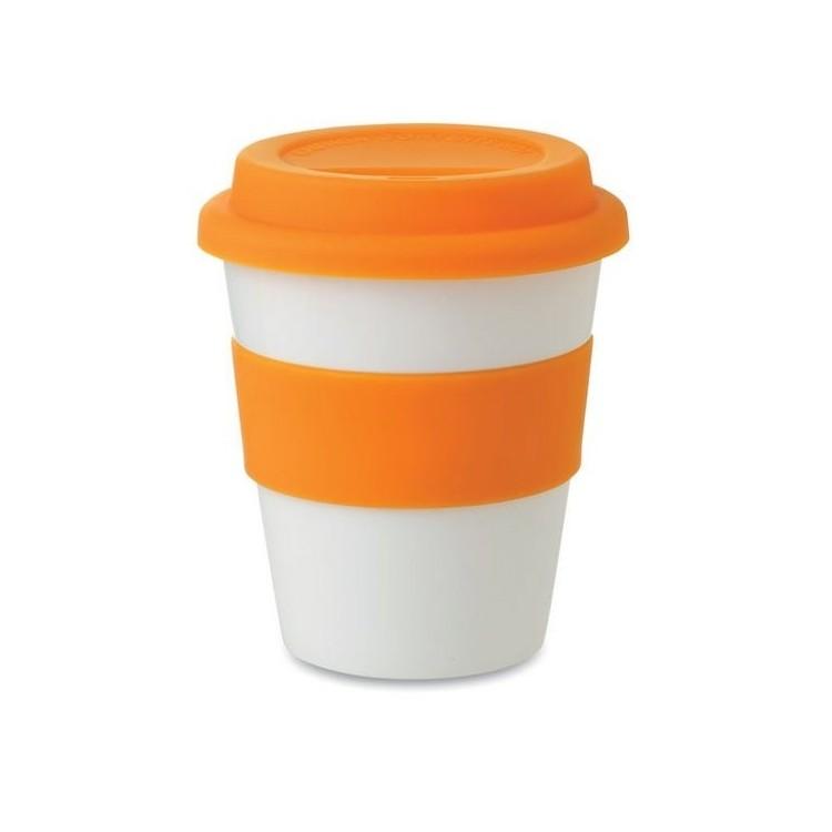 Gobelet avec couvercle (350 ml) - Produits personnalisé