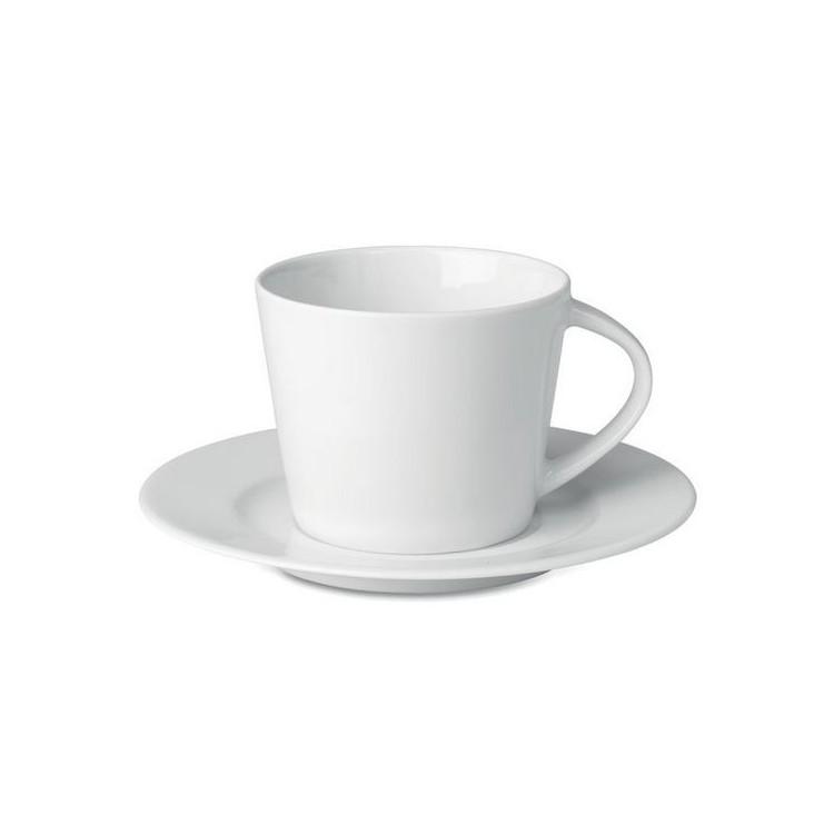 Tasse et soucoupe Cappuccino - Tasse avec logo