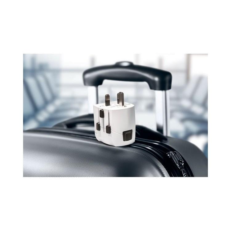 Adaptateur de voyage et chargeur USB - Voyages personnalisé