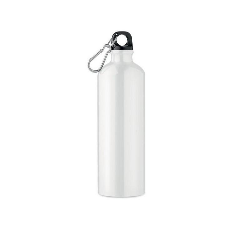 Bouteille en aluminium 750 ml personnalisé - Objet personnalisable en quadrichromie personnalisable