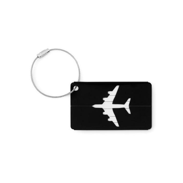 Etiquette à bagage en aluminium- FLY TAG - Etiquette à bagage personnalisée