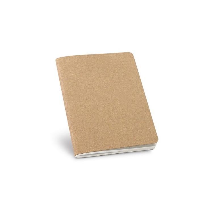 Cahier B7 60 pages 100% recyclé - Cahier publicitaire