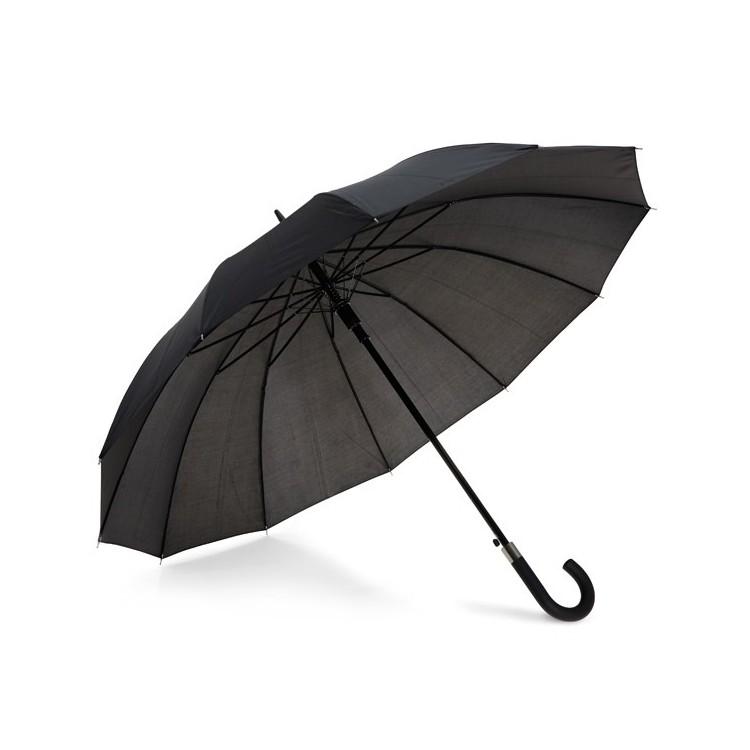 Parapluie de luxe à 12 baleines personnalisé - Parapluie canne personnalisable