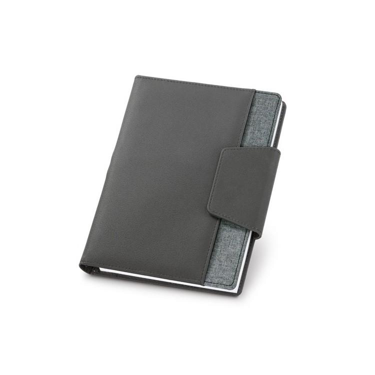 Bloc-notes A5 avec couverture rigide - Cahier publicitaire