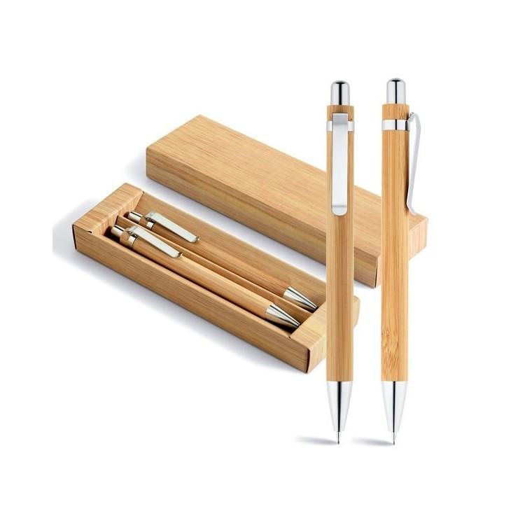 Parure stylo à bille et porte-mine - Produits personnalisé