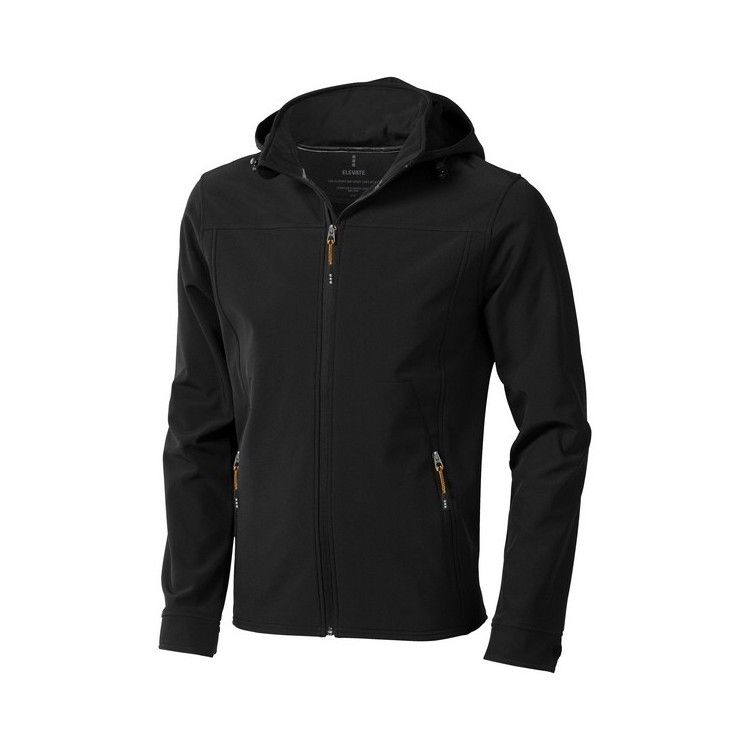 Veste softshell Langley - Softshell avec logo