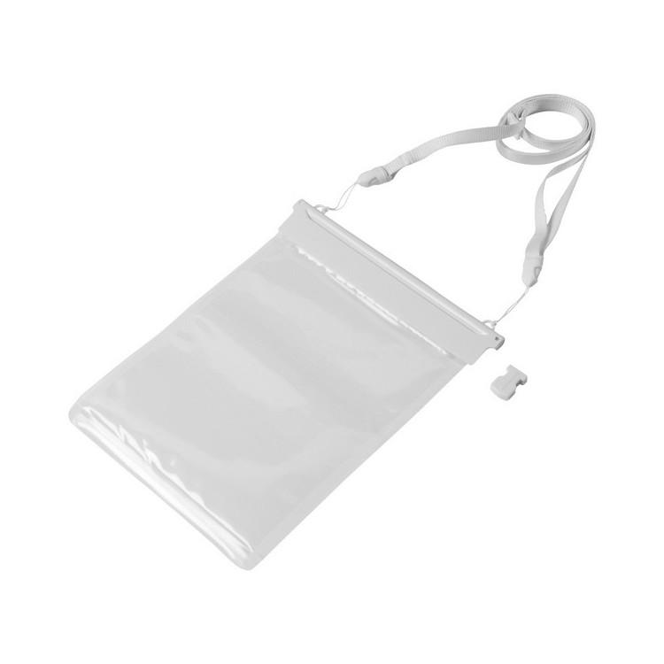 Étui étanche pour mini tablette avec pochette tactile 24 x 18cm publicitaire - Matériel étanche personnalisé
