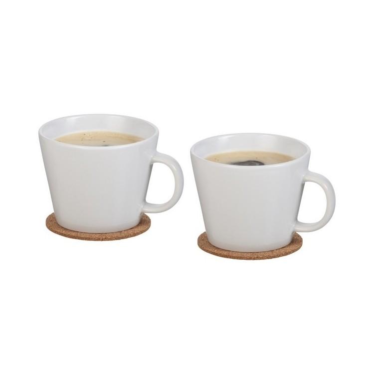 Ensemble de 2 tasses avec sous-tasse - Produits personnalisé