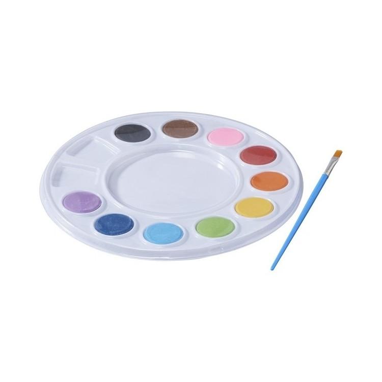Palette de peinture à l'eau - Produits avec logo