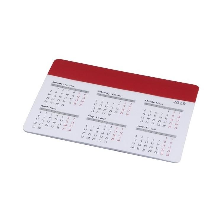 Tapis de souris avec calendrier 2021 - Tapis de souris personnalisé