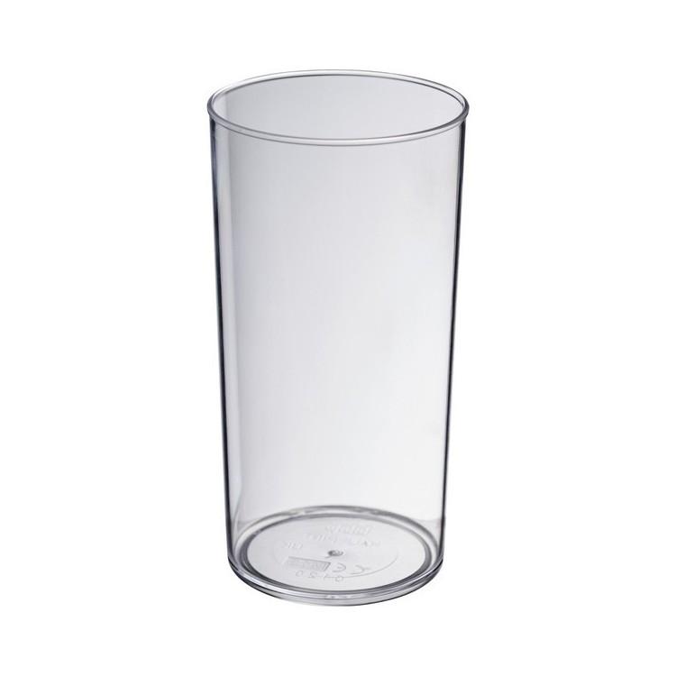 Verre plastique 28 cl Made in Royaume Uni - Produits personnalisé