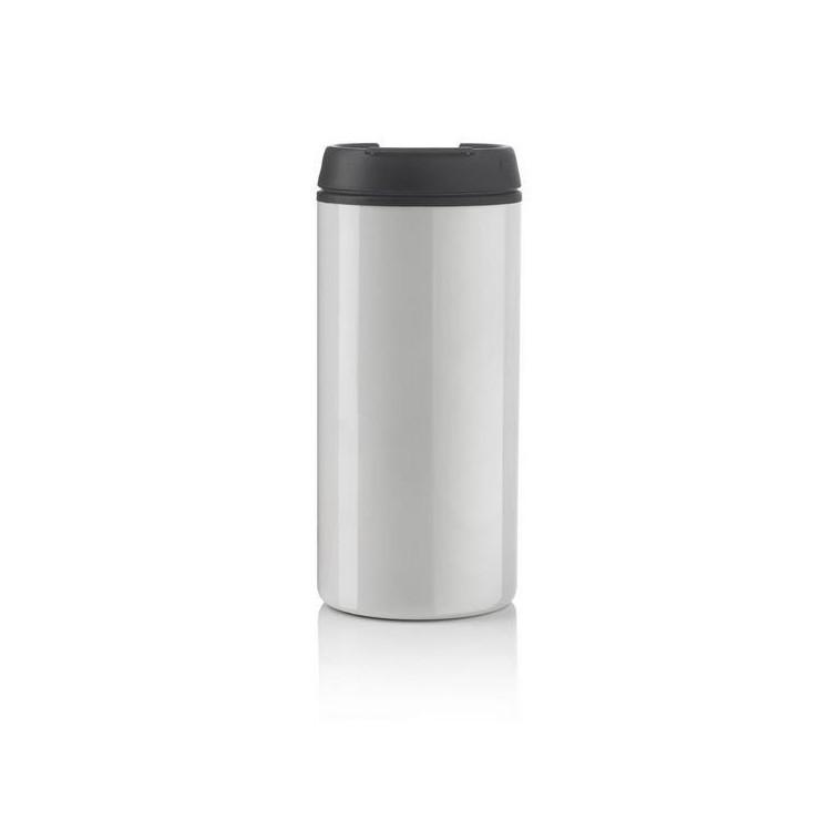 Mug 30cl inox et PP - Mug avec logo