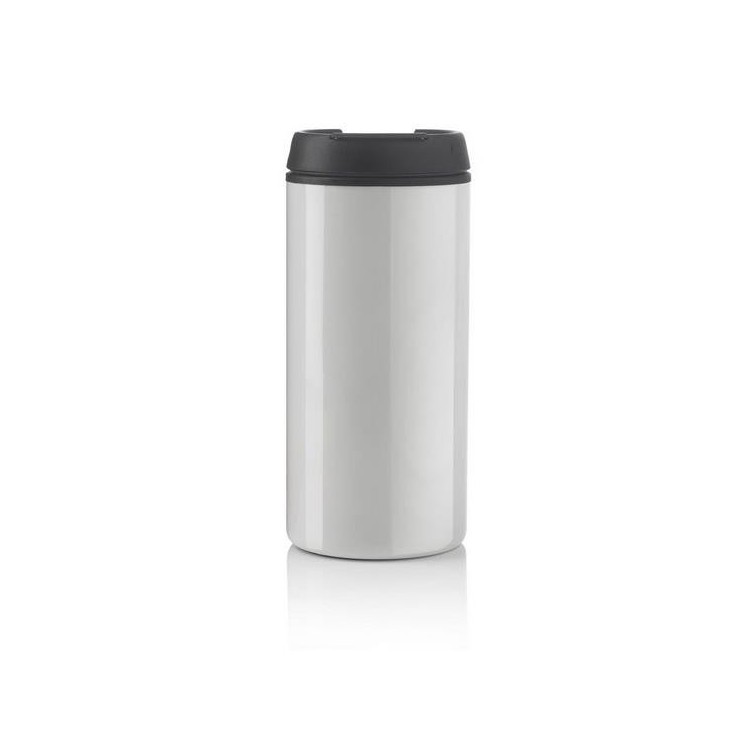 Mug 30cl inox et PP - Mug isotherme avec logo