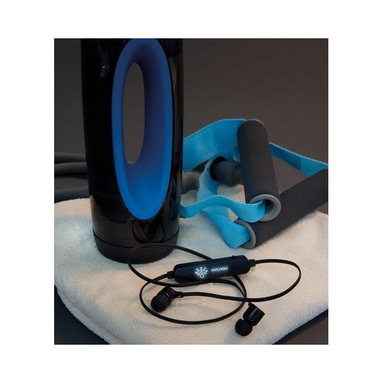 Ecouteurs sans fil lumineux - Produits avec logo