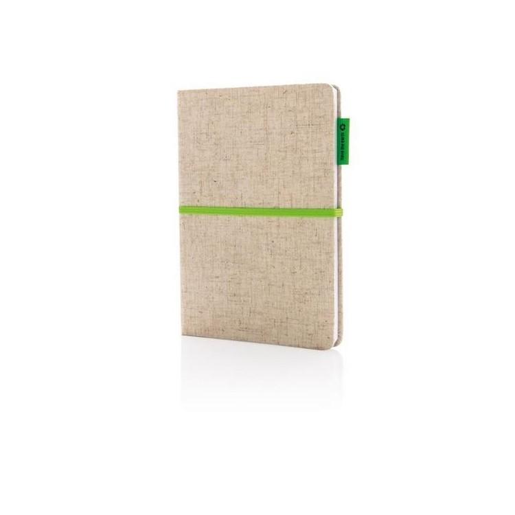 Carnet A5 en papier de bambou - Produits personnalisable